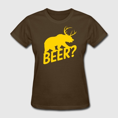 The Bear Deer Beer - Women's T-Shirt