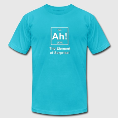 Shop periodic table t shirts online spreadshirt ah the element of surprise t shirts mens t shirt by american urtaz Images