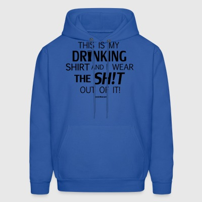 Sconsinwear My Drinking Shirt Hoodies - Men's Hoodie