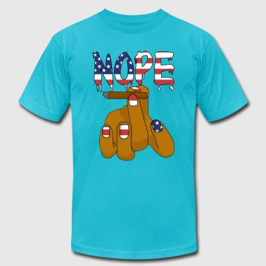 Nope T-shirt - Men's T-Shirt by American Apparel