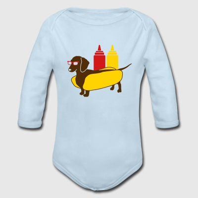 Weenie Dog For Babies - Long Sleeve Baby Bodysuit
