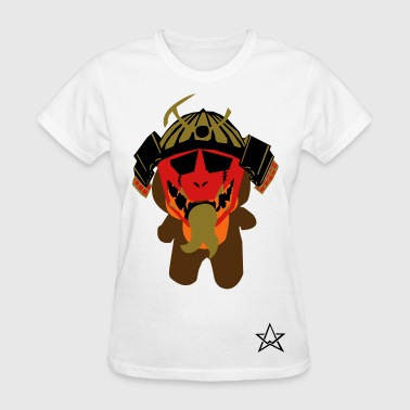 Pancho bear samurai - Women's T-Shirt