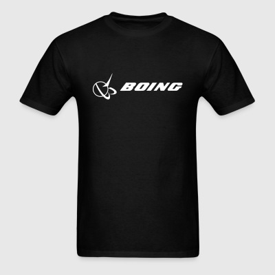 BOING - White text - Men's T-Shirt