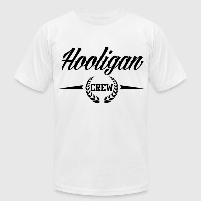 Hooligan Crew  - Men's T-Shirt by American Apparel
