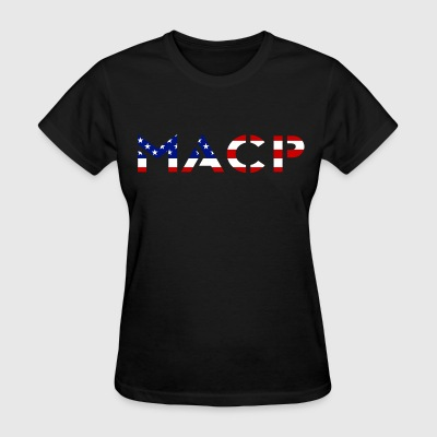 MACP Knee Fighter USA Flag Women - Women's T-Shirt