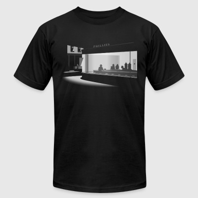Nighthawks - Men's T-Shirt by American Apparel