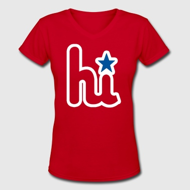 Phillies hi Zoo With Roy -mp Women's T-Shirts - Women's V-Neck T-Shirt