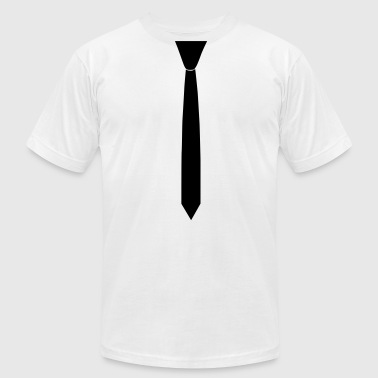 Tie - Men's T-Shirt by American Apparel
