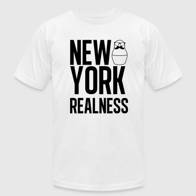 New York Realness - Men's T-Shirt by American Apparel