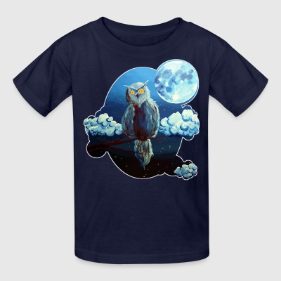 The watcher by Shou '(Owl) Kids' Shirts - Kids' T-Shirt
