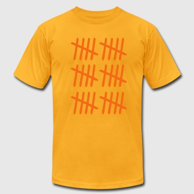 Thirty Tally - Men's T-Shirt by American Apparel