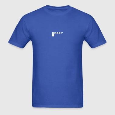 Atari Basic Prompt - READY █ - T-shirt - Men's T-Shirt