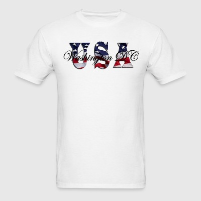 USA Washington, DC - Men's T-Shirt
