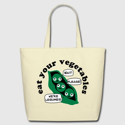 Eat Your Legumes Tote Bag - Eco-Friendly Cotton Tote