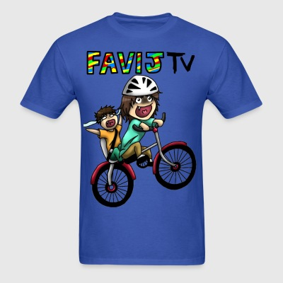 FavijTV - Happy Wheels - Men's T-Shirt