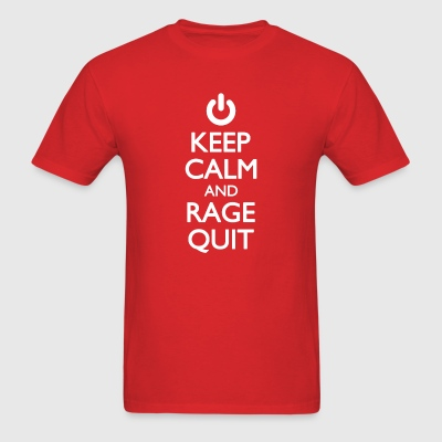 Rage Quit - Men's T-Shirt