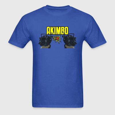 Akimbo Ray Guns - Men's T-Shirt