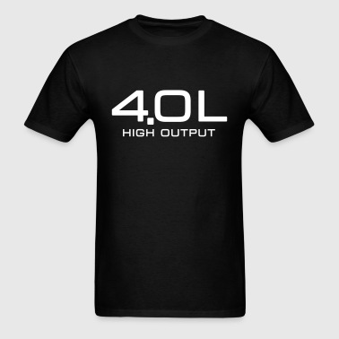 4.0 Litre High Output - Men's T-Shirt