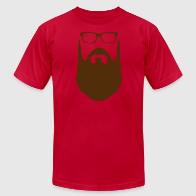 Beard for Him - Men's T-Shirt by American Apparel