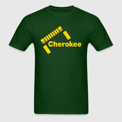 Slanted Cherokee - Men's T-Shirt
