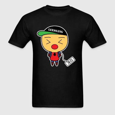 [Running Man!] Avengers: SpiderGary Nametag - Men's T-Shirt