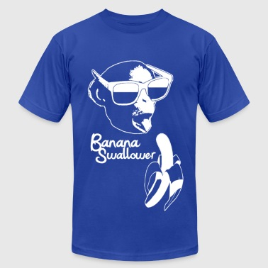 Banana Swallower Crew neck - Men's T-Shirt by American Apparel