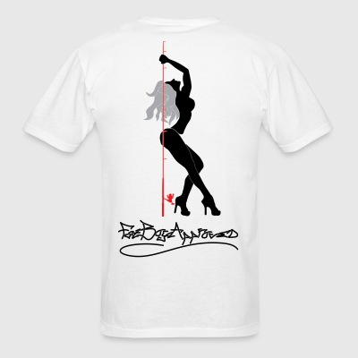 Fishing Pole Dancer T-Shirts - Men's T-Shirt