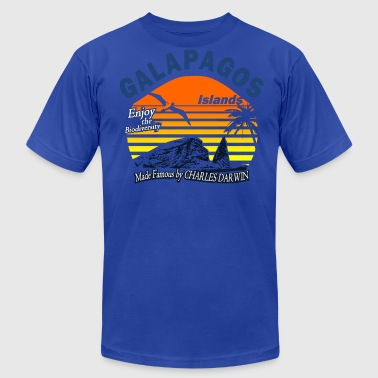 Galapagos Islands - Men's Fine Jersey T-Shirt
