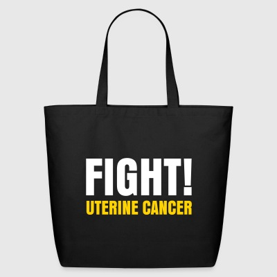 I'm not broken. Fight Uterine Cancer! - Eco-Friendly Cotton Tote