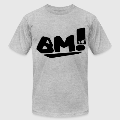 Bad Manners!  - Men's T-Shirt by American Apparel