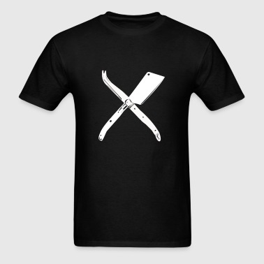 Curd Collective - Cheese Knives - Men's T-Shirt