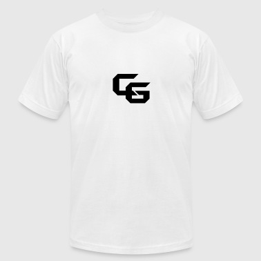 Black Cg Logo Tee - Men's T-Shirt by American Apparel