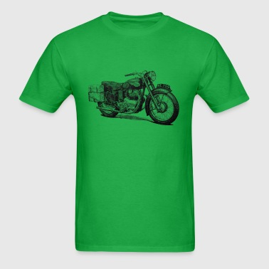 Vintage Motorcycle T shirt - Meteor 700 - Men's T-Shirt