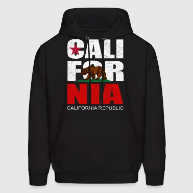 CALI FOR NIA Men's Hooded Sweatshirt - Men's Hoodie