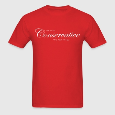 Ice Cold Conservative - Men's T-Shirt