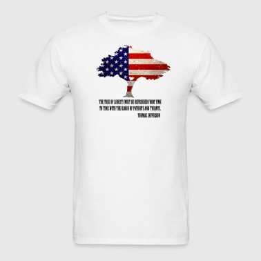 Tree of Liberty  - Men's T-Shirt
