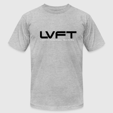 Live Fit Personal Training  - Men's T-Shirt by American Apparel
