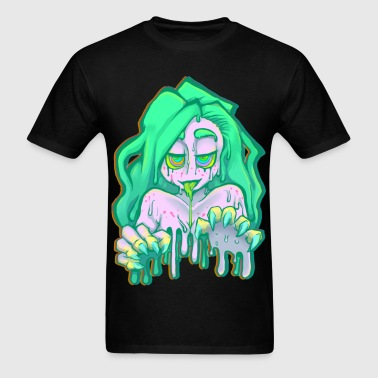 Zombie Babe - Men's T-Shirt