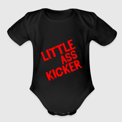 Little Ass Kicker - Short Sleeve Baby Bodysuit