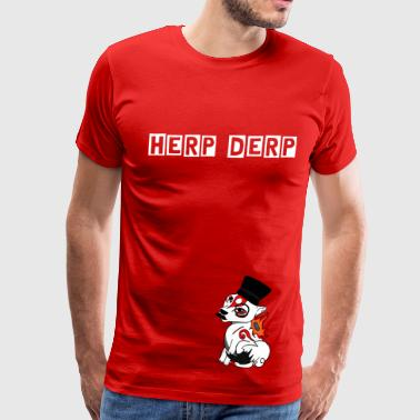 HERP DERP - CloudfangLP Shirt MENS - Men's Premium T-Shirt