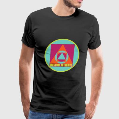 Question Authority - Men's Premium T-Shirt
