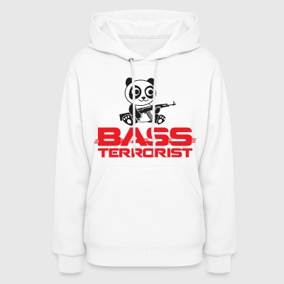 Bass Terrorist Original Logo Edition - Women's Hoodie