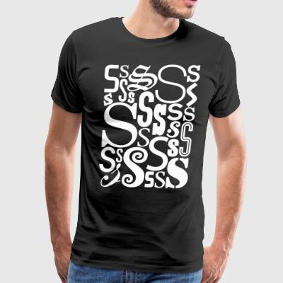 The Letter S Shirt - Men's Premium T-Shirt