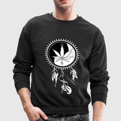 'Dreamcatcher' Men's Crewneck - Crewneck Sweatshirt