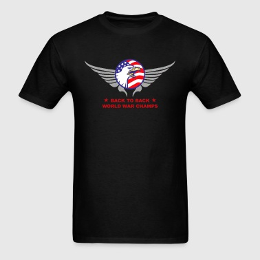 Back to Back B2B World War - Men's T-Shirt