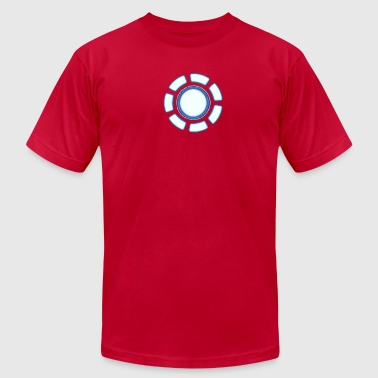 Arc reactor - Men's T-Shirt by American Apparel