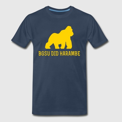 BGSU did Harambe - Men's Premium T-Shirt
