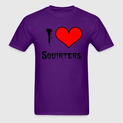 I love Squirters, Sexual Sessions - Men's T-Shirt