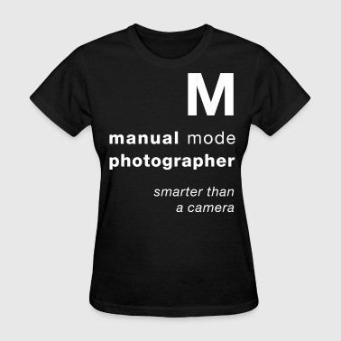 M = smarter than a camera - Mediarena.com - Women's T-Shirt