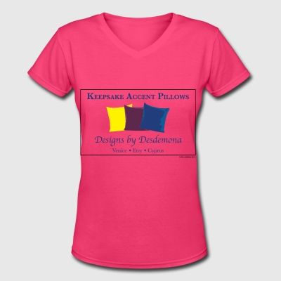 Desdemona's Pillows - Women's V-Neck T-Shirt